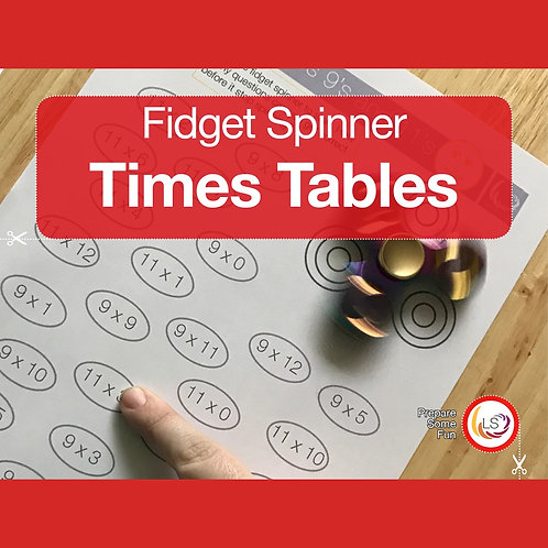 Fidget Times Tables