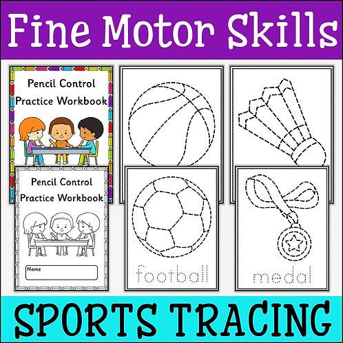 Fine Motor Skills: Sports Tracing