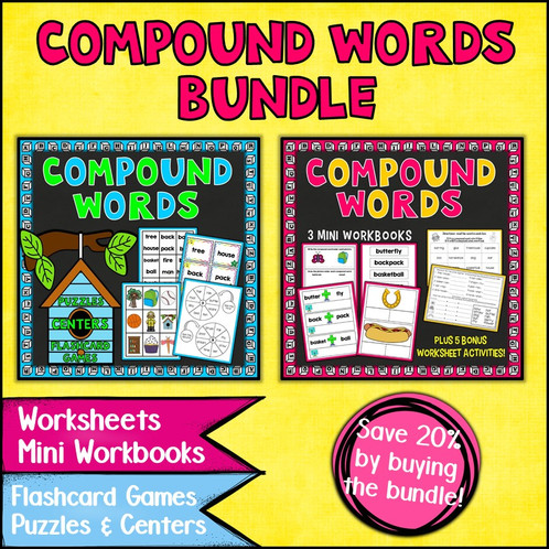 Compound words worksheets and activities bundle ibookread ePUb