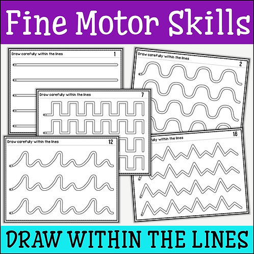 Fine Motor Skills: Draw Within Lines