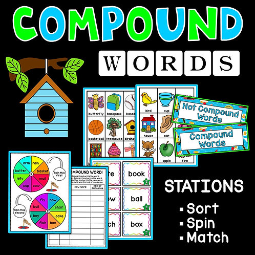 SPAG: Compound Words Games and Stations