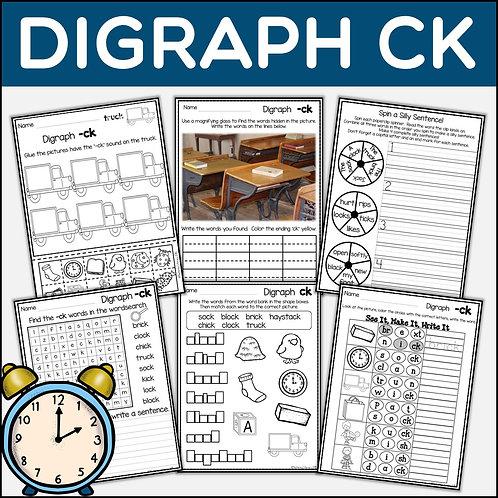 Phonics: Phonics Digraph CK