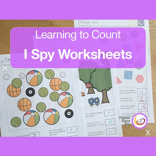 I-Spy Counting