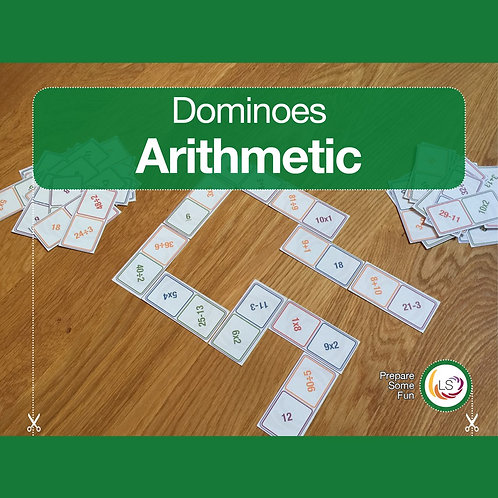 Arithmetic Dominoes