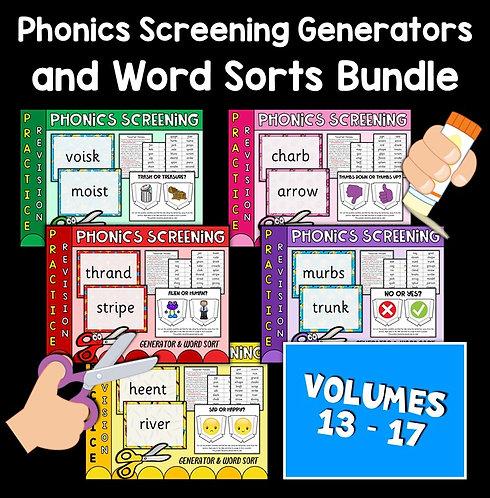 Phonics Screening Bundle