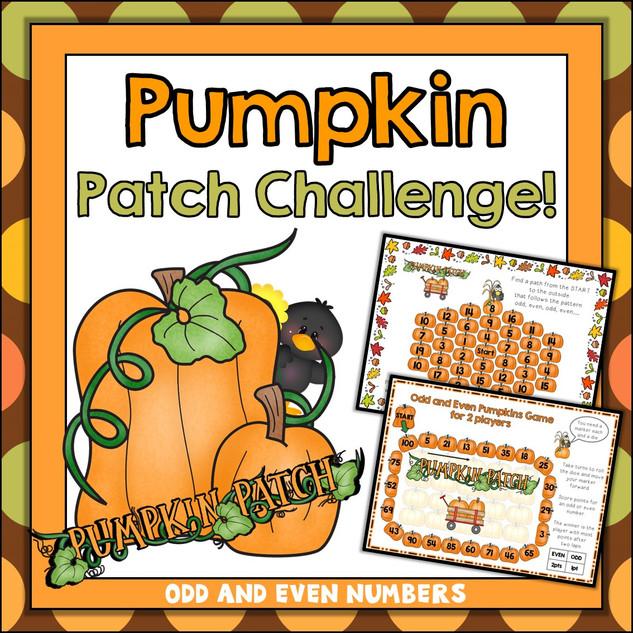 Pumpkin Patch Maths Challenge