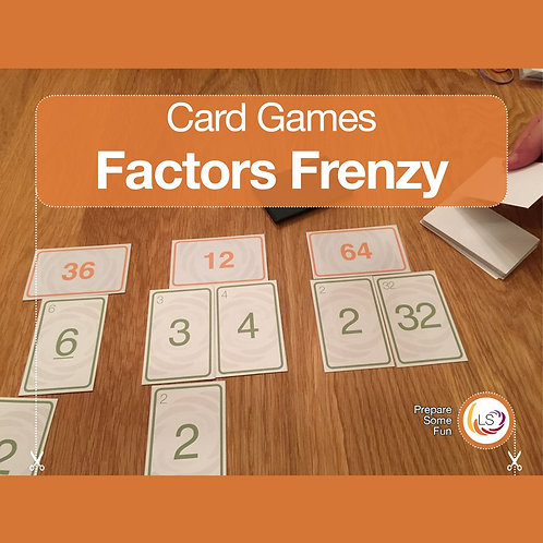 Factor Frenzy