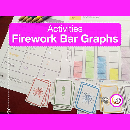 Fireworks Bar Graphs