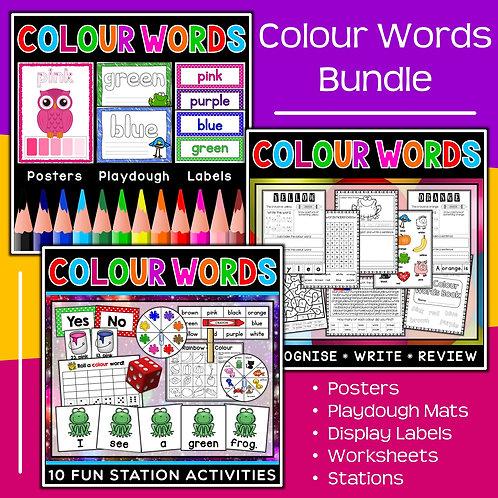 Colour Words Bundle