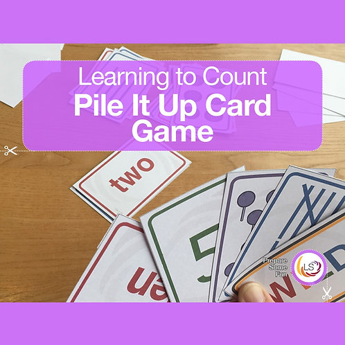 Pile It Up Card Game
