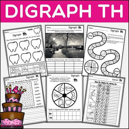 Phonics: Phonics Digraph TH