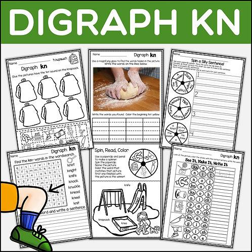 Phonics: Phonics Digraph KN
