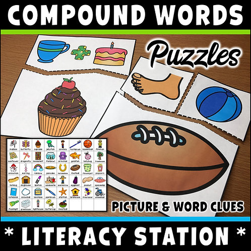 SPAG: Compound Words Puzzles