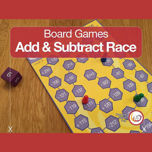 Add and Subtract Race