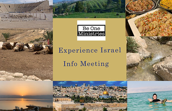 Experience Israel Information Meeting