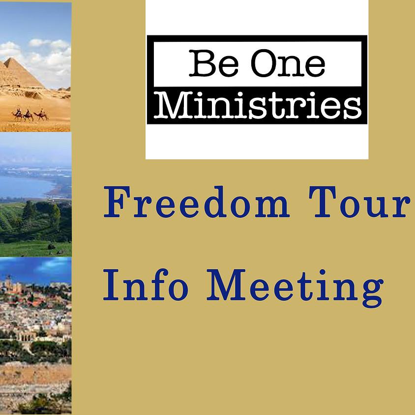 Freedom Tour Information 2021