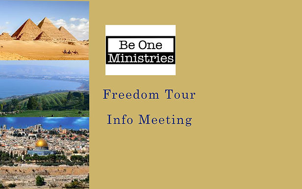 Freedom Tour Info Meeting