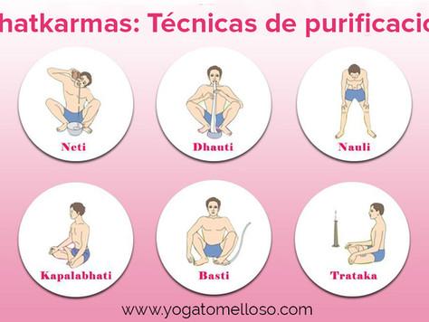SHATKARMAS: Técnicas de purificación yoguis
