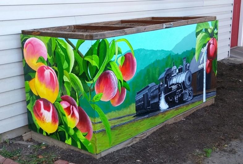 Mural - Highland Arts Unlimited Communit