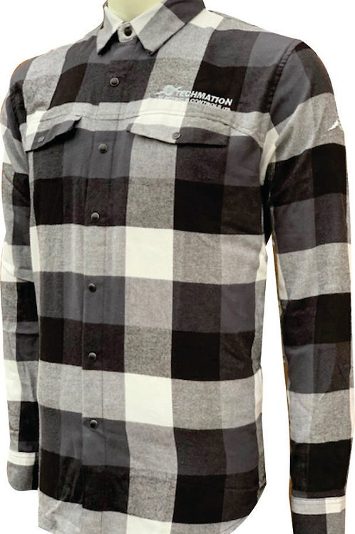 SFX-1 - Men's Logan Snap Front Shirt w/ LF Logo & R Sleeve Globe