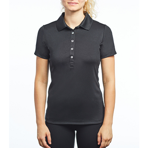 811567 - LADIES NIKE VICTORY POLO w/ R SLEEVE LOGO IN SILVER