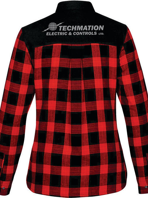 FLX-1W - Women's Logan Thermal L/S Shirt w/ Back Yoke Logo