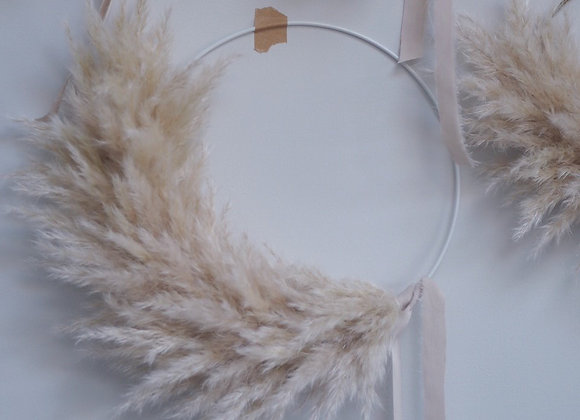Medium Pampas Wreath