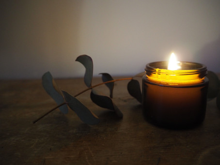 Christmas candle-making