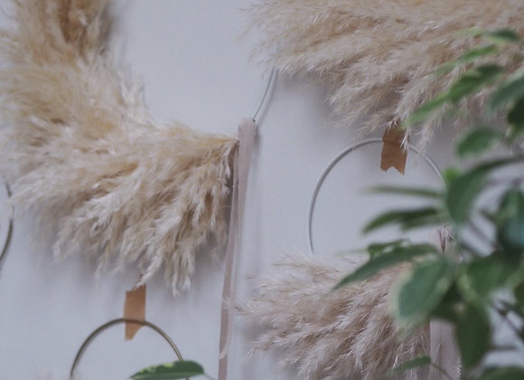Small Pampas Wreath
