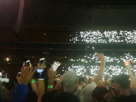 Ed Sheeran Jo'burg concert