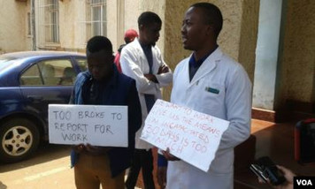 Fired doctors now looking for jobs out side the country