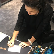 in-store calligraphy service