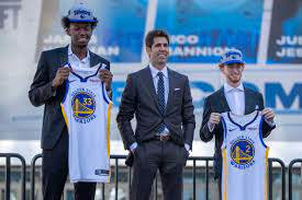 REVIEWING THE WARRIORS' DRAFT PICKS