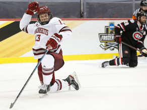 UMASS SHUTS OUT ST. CLOUD STATE TO WIN FROZEN FOUR