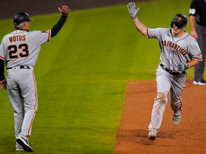 The Giants set records blowing out Rockies, 23-5