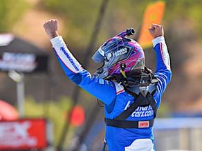 Larson dominates field at Sonoma; Wins Toyota Save Mart 350