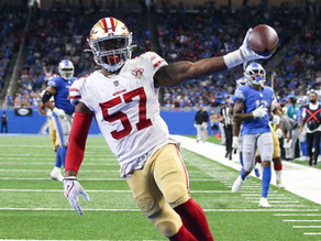 Niners Offense Shows Up in Season Opener in Detroit