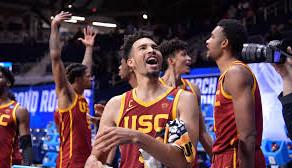 USC upsets Kansas to make it to Sweet Sixteen