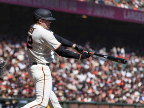 GIANTS CLINCH THE WEST WITH BLOWOUT OF PADRES
