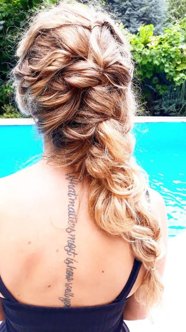 Lässige Haarstyles für Girls.