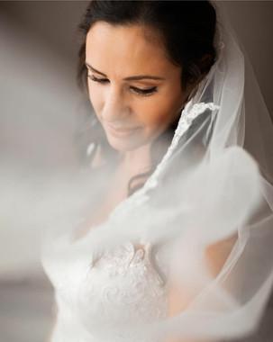 Romantic makeup for brides