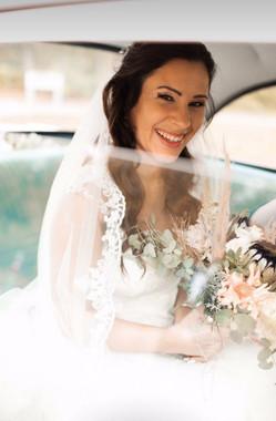 Boho bridal styling