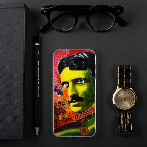 Samsung Case - Nikola Tesla 3.0 - by Schirka El Creativo
