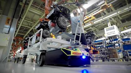 La fábrica de los robots