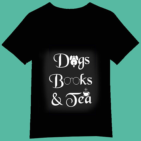 Dogs Books and tea