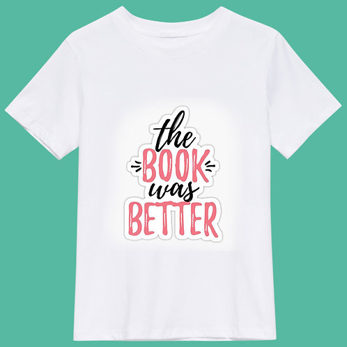 the book was better - pink