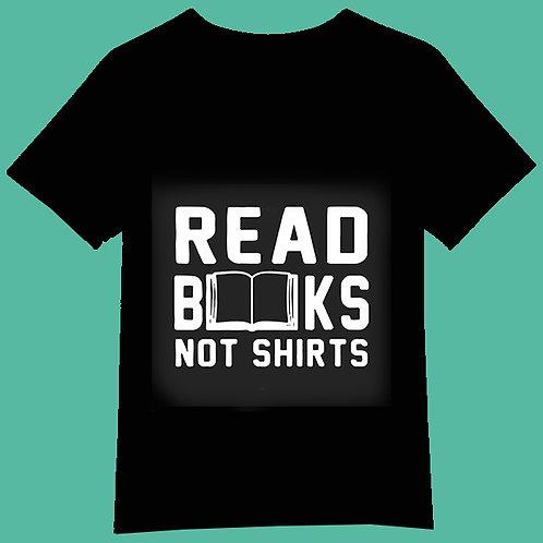 read books not shirts