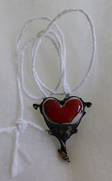 Heart Necklaces by Catherine Reason Maca