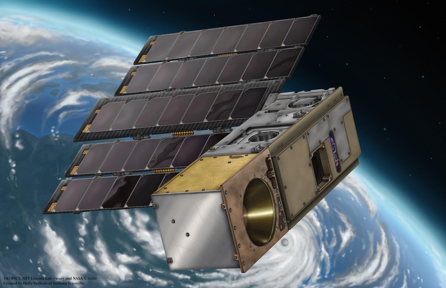 TROPICS NASA Orbit Illustration
