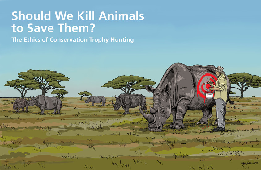 Should we Kill Animals to Save Them? The Ethics of Trophy Hunting